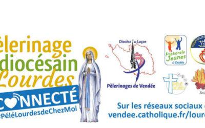 Suivez le pèlerinage de Lourdes depuis chez vous !