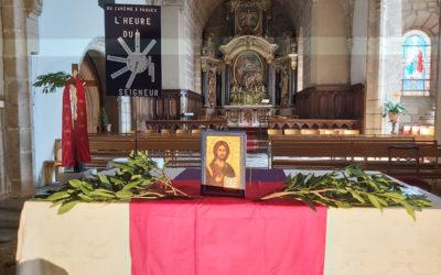 Présence de l'Abbé Janvier dans les églises de la paroisse