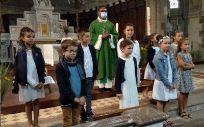 «Le 20 septembre à Chambretaud, 1ère des communions
