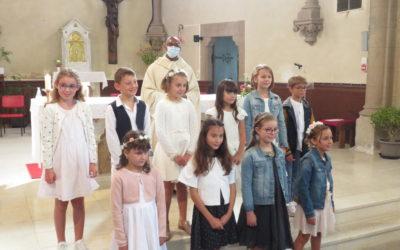 1ère des communions le 13 septembre à Treize-Vents.