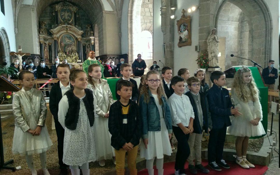 Premieres communion les Epesses