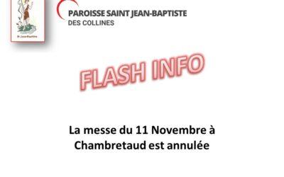 Flash info