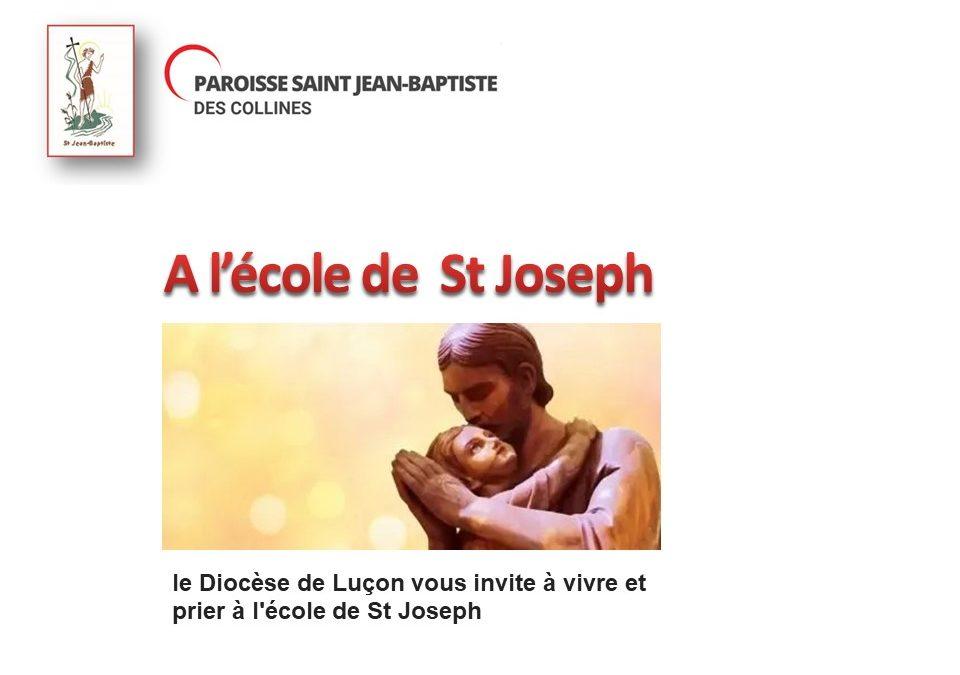A l'école de St Joseph par le diocèse de Luçon