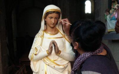 La Vierge Eglise Notre Dame des Epesses