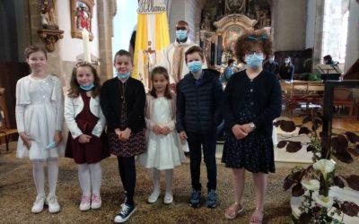 1 ère Communion Eglise des Epesses
