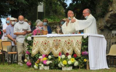 Messe  du 15 Août 2021 Grotte de T Vents